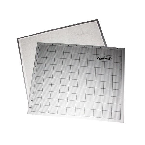 Square sundew and sunburst sticky boards