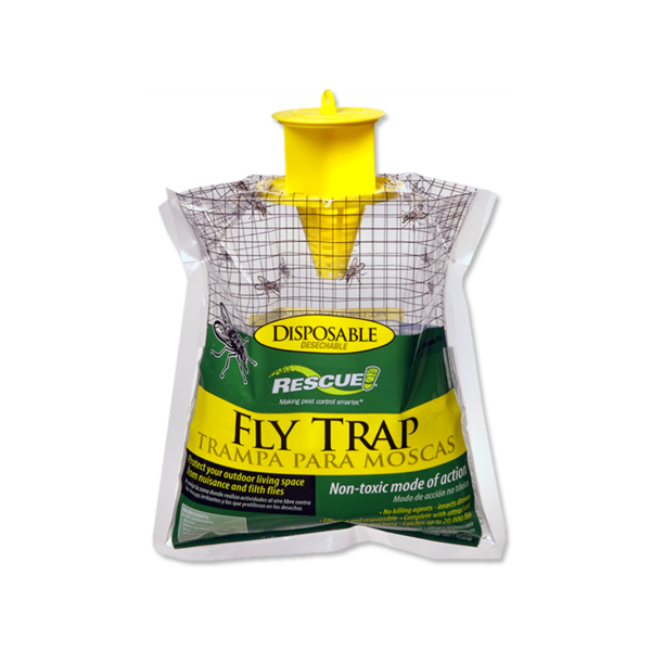 Square fly trap